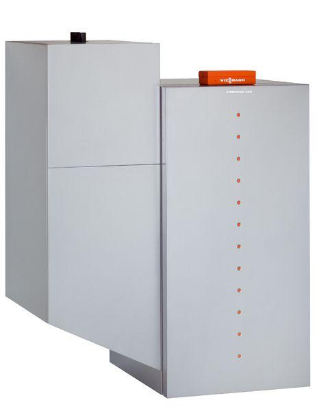 Пеллетный котел Viessmann Vitoligno 300-P 18 кВт c Vitotronic 200 (с системой всасывания)